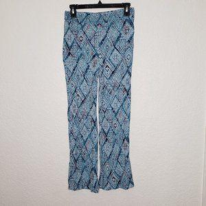 aeropostale blue flared pants sz s/p